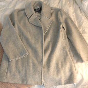 Zara Gray Jacket/Coat Size S new with tag
